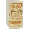 A La Maison Bar Soap - Oat Milk - Value 4 Pack HGR 1015700