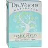 Dr. Woods Bar Soap Baby Mild Unscented - 5.25 oz HGR 1053404