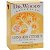 Dr. Woods Castile Bar Soap Ginger Citrus - 5.25 oz HGR 1053412