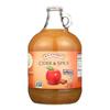 R.W. Knudsen Cider and Spice - Apple - Case of 6 - 96 Fl oz.. HGR 1061134