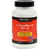 Bricker Labs Carnipure L-Carnitine - 500 mg - 100 Tablets HGR 1070903