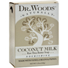 Dr. Woods Bar Soap Coconut Milk - 5.25 oz HGR 1077791