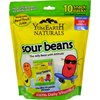 Yummy Earth Naturals Sour Jelly Beans Snack Packs - 10 Packs HGR 1077940