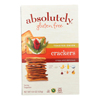 Absolutely Gluten Free Crackers - Toasted Onion - Case of 12 - 4.4 oz.. HGR 1079805