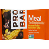 Probar Organic Peanut Butter Chocolate Chip Bar - Case of 12 - 3 oz HGR 1081512