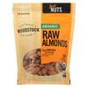 Woodstock Organic Almonds - Raw - Case of 8 - 7.5 oz.. HGR 1081827