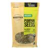 Woodstock Organic Easy Spread Peanut Butter - Crunchy - Unsalted - Case of 12 - 18 oz. HGR1081934