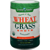 Green Foods Organic and Raw Wheat Grass Shots - 10.6 oz HGR 1090117