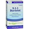 King Bio Homeopathic 911 Burnout - 2 fl oz HGR 1090638
