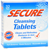 hgr: SECURE - Denture Cleanser - 32 Tablets