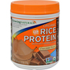 Growing Naturals Organic Raw Rice Protein - Chocolate Power - 16.8 oz HGR 1099738