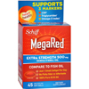 Supplements Efas Epos Fish Oils: Schiff Vitamins - Schiff MegaRed Extra Strength Omega 3 - 500 mg - 45 Softgels