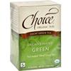 Choice Organic Teas Teas Decaffeinated Green Tea - Case of 6 - 16 Bags HGR 1113117
