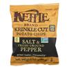 Kettle Brand Potato Chips - Sea Salt and Crushed Black Pepper - Case of 24 - 1.5 oz.. HGR 1114719