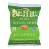 Kettle Brand Potato Chips - Jalapeno - Hot - 1.5 oz.. - case of 24 HGR 1114735