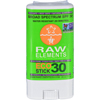 Shield-it-products: Raw Elements - Eco Form Sunscreen Stick - SPF 30 Plus - .6 oz