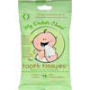 Oral Care Childrens: Tooth Tissues - Dental Wipes - Case of 6 - 30 Pack