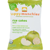 snacks: Happy Baby - Happy Munchies Rice Cakes Apple - 1.41 oz - Case of 10