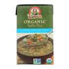 Dr. Mcdougall's Organic Split Pea Lower Sodium Soup - Case of 6 - 17.6 oz.. HGR 1136266