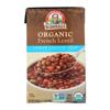 Dr. Mcdougall's Organic French Lentil Lower Sodium Soup - Case of 6 - 17.6 oz.. HGR 1136274