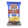 Kettle Cooked Canyon Cut Potato Chips -Natural - Case of 12 - 6.5 oz.