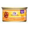 Wellness Pet Products Cat Food - Chicken Entr?e - Case of 24 - 3 oz.. HGR 1137694