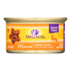 Wellness Pet Products Cat Food - Chicken Dinner - Case of 24 - 3 oz.. HGR 1137728