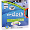 Paper Towels Towels Wipes: E-Cloth - Kitchen Cleaning Cloth - 2 Pack