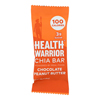 Health Warrior Chia Bar - Chocolate Peanut Butter - .88 oz.. Bars - Case of 15 HGR 1140490