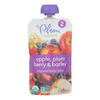 Baby Food - Apple Plum Berry and Barley - Case of 6 - 3.5 oz..