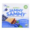 Plum Organics Jammy Sammy Snacks - Blueberry and Oatmeal - Case of 6 - 1.03 oz.. HGR 1146711