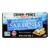 Skinless and Boneless Sardines In Water - Case of 12 - 4.37 oz..