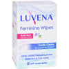 New Health & Wellness: Luvena - Anti-Itch Wipes - Medicated - 12 Pack