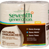 Seventh Generation - Bathroom Tissue - 2 ply Natural Unbleached - 4 ct 400 sheet rolls - Case of 12