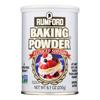 Rumford Baking Powder - Reduced Sodium - Case of 12 - 8.1 oz.. HGR 1170976