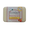 soaps and hand sanitizers: A La Maison - Bar Soap - Honey Crisp Apple - 8.8 oz