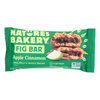 Nature's Bakery Stone Ground Whole Wheat Fig Bar - Apple Cinnamon - Case of 12 - 2 oz.. HGR1179019
