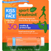 Creams Ointments Lotions Lip Balms: Kiss My Face - Lip Balm Sport - Mint - SPF 30 - Case of 12 - .15 oz