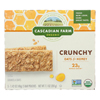 Crunchy Granola Bars - Oat and Honey - Case of 12 - 7.1 oz..