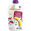 Happy Baby Food - Organic - Simple Combos - Bananas Beets and Blueberries - 6 Plus Months - Stage 2 - 3.5 oz - Case of 16 HGR 1194638