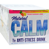 Supplements Food Supplements: Natural Vitality - Calm Counter Display - Raspberry Lemon - Case of 8 - 5 Packs
