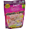 candy: Yummy Earth - Organic Vitamin C Lollipops- Over 40 Pops