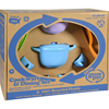 Clean and Green: Green Toys - Cookware and Dinnerware Set - 27 Piece Set