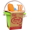 Green Toys Sand Play Set - Green - 4 Piece HGR 1203595