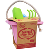 Clean and Green: Green Toys - Sand Play Set - Pink