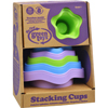 Clean and Green: Green Toys - Stacking Cups - 6 Cups