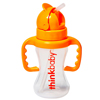 Thinkbaby Bottle - Thinkster - Straw - Orange - 9 oz HGR 1204916