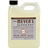 soaps and hand sanitizers: Mrs. Meyer's - Liquid Hand Soap Refill - Lavender - 33 lf oz - Case of 6