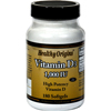 Vitamins OTC Meds Vitamin D: Healthy Origins - Vitamin D3 - 1000 IU - 180 softgels