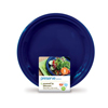 Plates Dinner Plates: Preserve - On the Go Large Reusable Plates - Midnight Blue - 8 Pack - 10.5 in